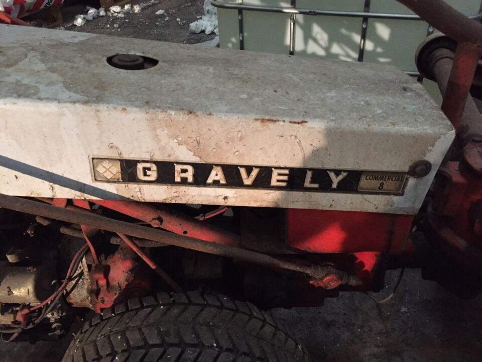 Fejemaskine, gravely commercial 8 fejemaskine