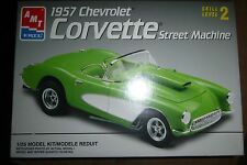 AMT 1957 CHEVY CORVETTE STREET MACHINE  Model Car Mountain KIT OPEN