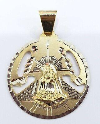 14kt Gold Filled Caridad Del Cobre Pendant