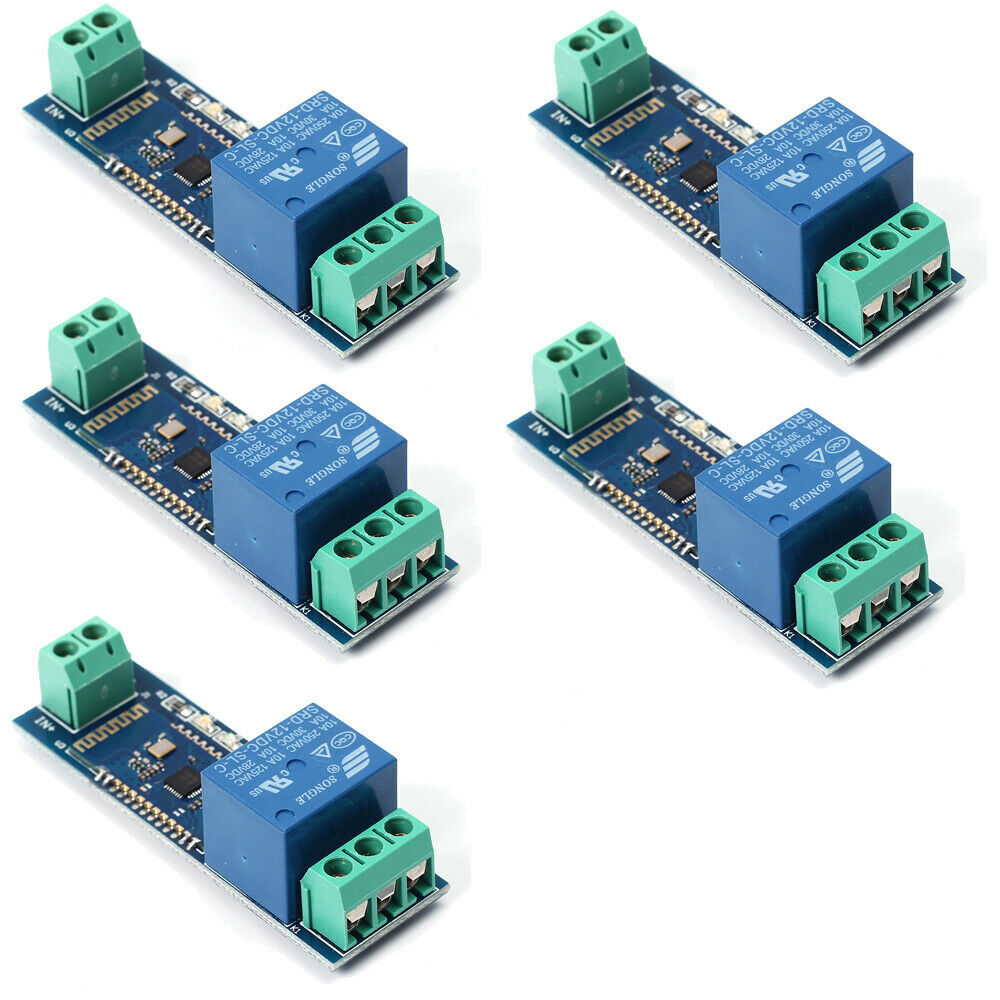 Details about 5Pcs Bluetooth Relay Module Remote Control Switch DC 12V IOT  Wireless Board Lot