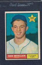1961 Topps #466 Ron Moeller Angels EX 61T466-22716-1