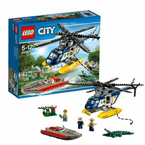 Helicopter Pursuit Box Set ** PURCHASE TODAY ** LEGO City Police 60067