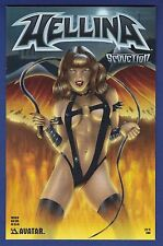 Hellina : Seduction Preview  Bad Girl Variant cover 2003 Avatar 1/1000