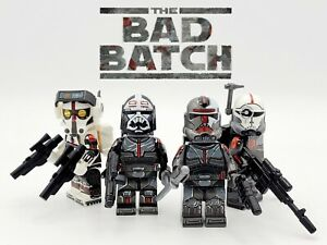 Star-Wars-The-Bad-Batch-Clone-Force-99-Minifigures-4-Set-USA-SELLER