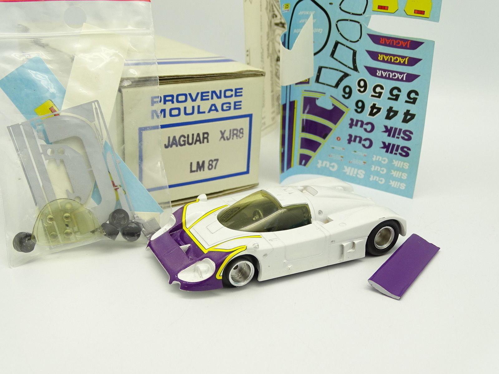 Provence Provence Provence Moulage Kit à Monter 1/43 Jaguar XJR8 Le Femmes 1987 Silk Cut   Une Bonne Réputation Dans Le Monde Entier  1603af