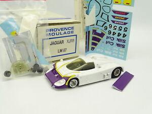 Provence Moulage Kit À Monter 1/43 - Jaguar Xjr8 Le Mans 1987 Silk Cut
