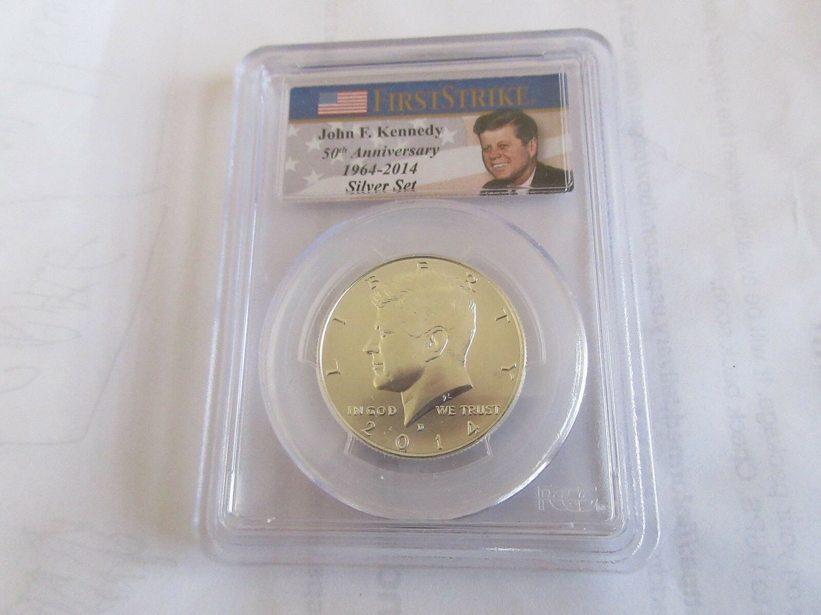 2014 John F. Kennedy 4 Coin Silver Set 50th Anniversary