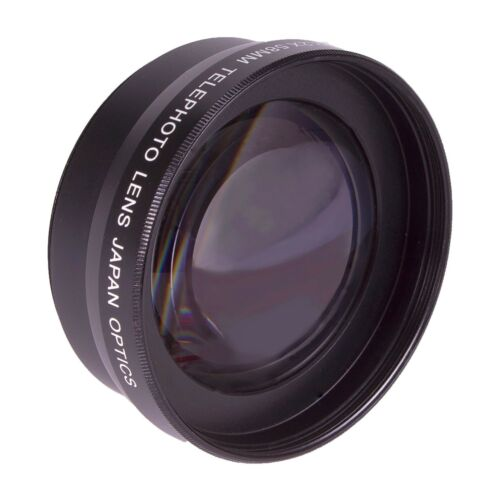 58MM 2X Telephoto Zoom Lens KIT for Canon EOS Rebel T1 T2 T3 T4 T5 T6 XS XSI XTI