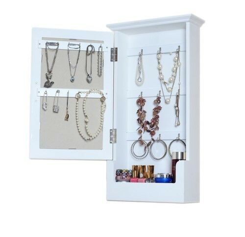 Brand New! Extra Large Wooden Key/ Jewellery Cabinet- Wall Mounted