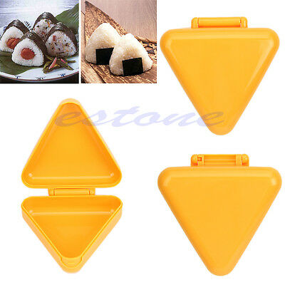 Triangle Sushi Mold Onigiri Rice Ball Bento Press Maker Japan Kitchen Tool New