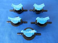 5 PCS 3/8 HB Shutoff Valve HHO Dry Cell Fuel Hydrogen Generator Kit Electrolyte!