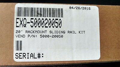"""500020050 20"""" Rackmount Sliding Rail Kit Colours Are Striking"""