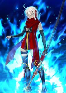 FGO Fate Grand Order Starter Account 1 5* SSR Alter Okita Souji EN//NA