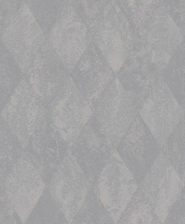 Essener Tapete Ambiance G67788 Rombo blueejo de la Pared Papel Pintado Fieltro