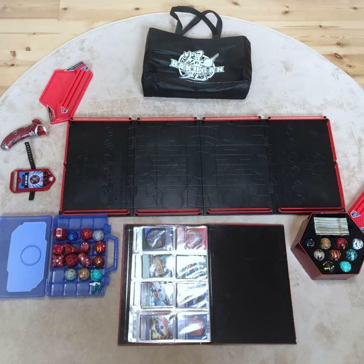 Conjunto completo usado Bakugan tarjetas de puerta tarjetas de capacidad Raro Juguete popularidad de campo
