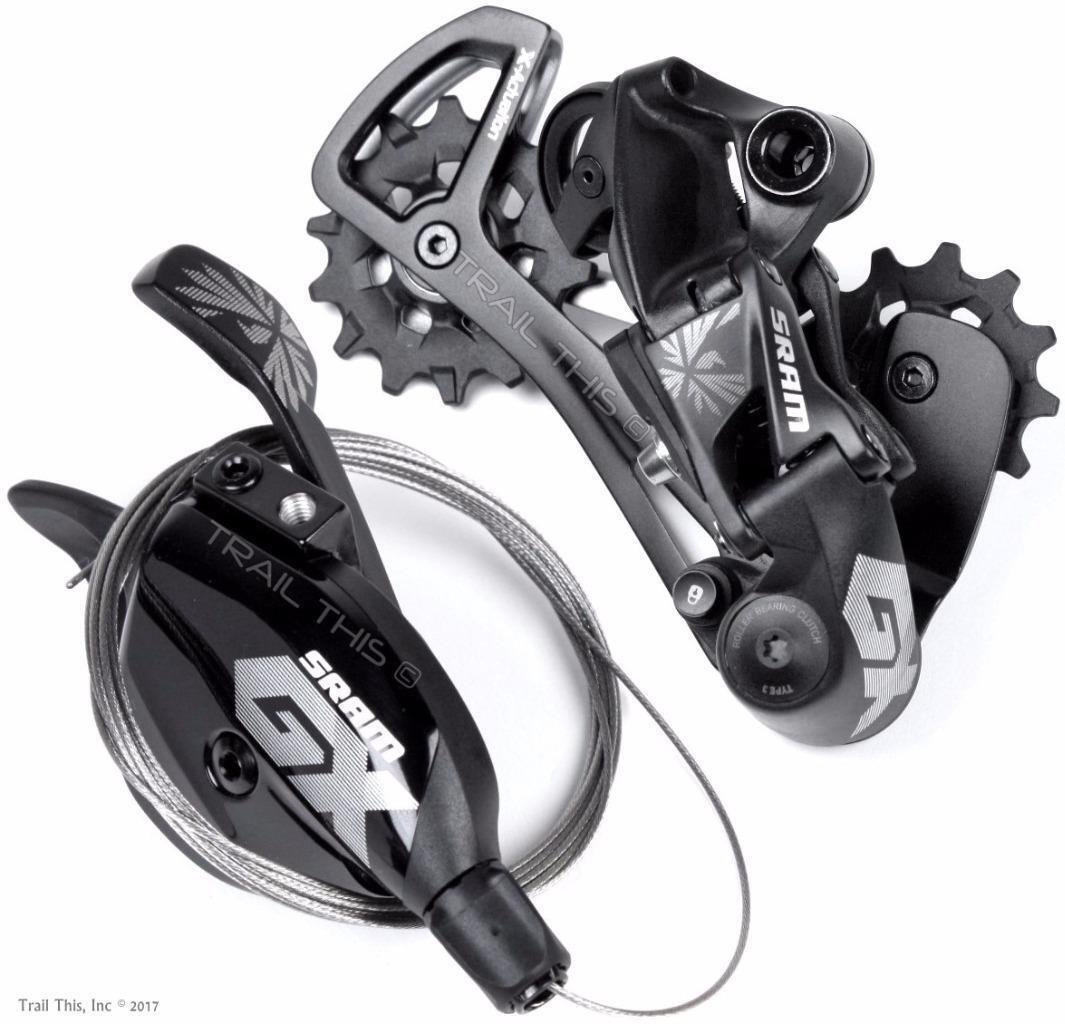 SRAM GX Eagle 12-Speed Rear Derailleur & Trigger Shifter Combo Set MTB Bike