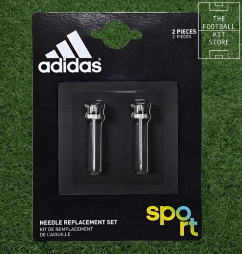 Adidas Needle Replacement Set of 2 Football Bicycle Pump Valve Adaptor