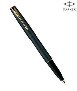 Parker Frontier Matte Matt Black GT Fountain Pen