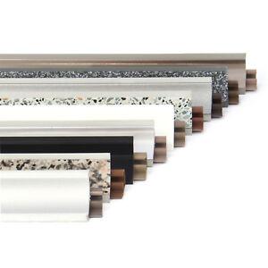 abschlussleisten 0 5 3m winkelleisten k che arbeitsplatte abschlussleiste top ebay. Black Bedroom Furniture Sets. Home Design Ideas