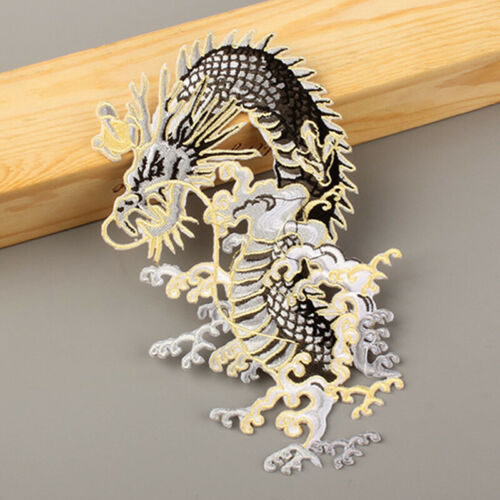 Dragon Patches Sewing Iron On Embroidered Badge Applique Sew DIY Craft Clothes