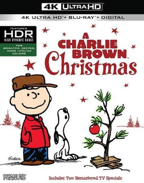 a charlie brown christmas 4k ultra hd blu ray digital code movie 2017 ebay - Charlie Brown Christmas Movie