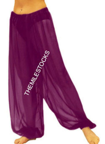 Black 25 Color TMS Harem Yoga Pant Belly Dance Gypsy Pantalons Trousers