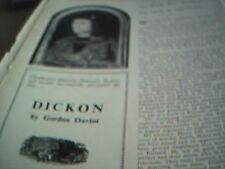 ephemera lincolnshire 1975 article the play dickon cleethorpes amateur dramatics