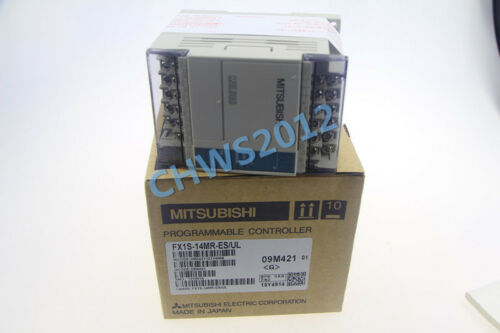 FX1S14MRESUL 1pcs  NEW Mitsubishi Melsec PLC FX1S-14MR-ES//UL