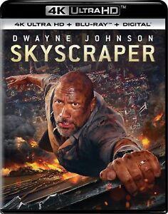 SKYSCRAPER-4K-UHD-Blu-ray-Digital-HD-NEW-FREE-SHIPPING-Skyscraper-Action
