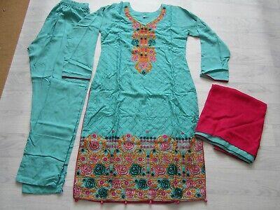 Pakistani stitched Linen suit Size Medium