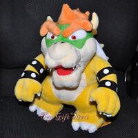 "New Super Mario Bros. Bowser Plush Doll Toy 10"""