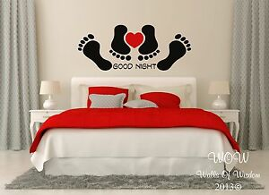 funny good night bedroom sexy adult quote wall sticker wall art ... - Camera Da Letto Sexy