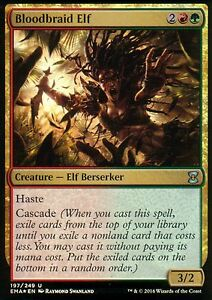 Bloodbraid-Elf-FOIL-NM-Eternal-Masters-Magic-MTG