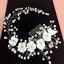NEW-Flower-Pearl-Crystal-Hair-Comb-Bridal-Wedding-Headband-Accessories-Headpiece thumbnail 3