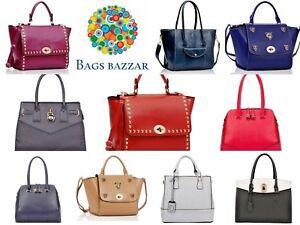 95004c9bc2d0 Image is loading WOMEN-S-LADIES-FASHION-BAGS-DESIGNER-PU-LEATHER-