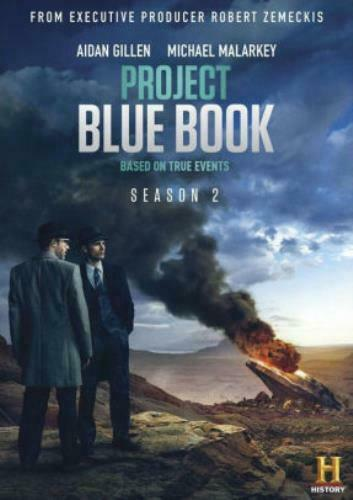 PROJECT BLUE BOOK: SEASON 2 (DVD) UK Compatible