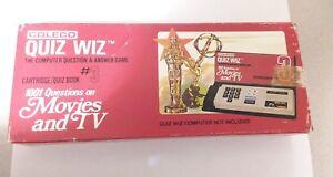 Coleco Quiz Wiz 1001 Questions Cartridge/Quiz Book #3 Movies