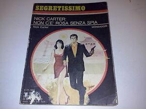 SEGRETISSIMO-MONDADORI-N-466-NICK-CARTER-NICK-CARTER-NON-C-039-e-ROSA-SENZA-SPIA