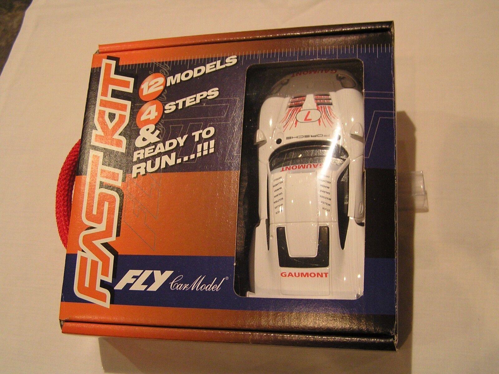 NEW FLY SLOT CAR BNIB FAST KIT SERIES (of 12) 88236 EP0019 PORSCHE 911 GT1 EVO