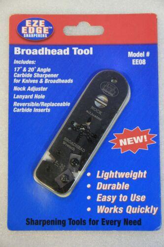 EZE bordo Trapassato//Affilacoltelli//Nock regolabili//Trapassato Wrench Tool
