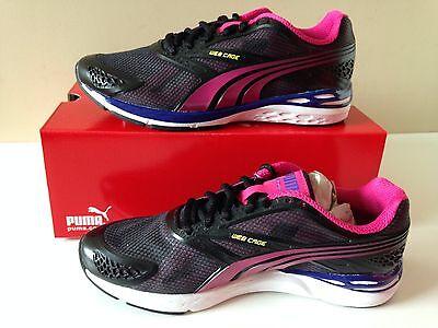 NIB PUMA Bioweb Speed Women/'s Shoes 186943 01 Black-beetroot purple Choose SIZE