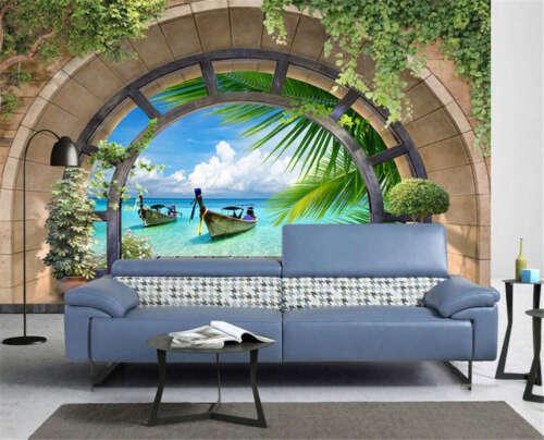 Wallpaper Murals Entitled Fine Ship 3d Full Wall Mural Photo Wallpaper Printing Home Kids Decor Home Garden