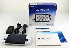 PlayStation PS Vita Wi-Fi Console Glacier White PCH-2000ZA22 Japan region free