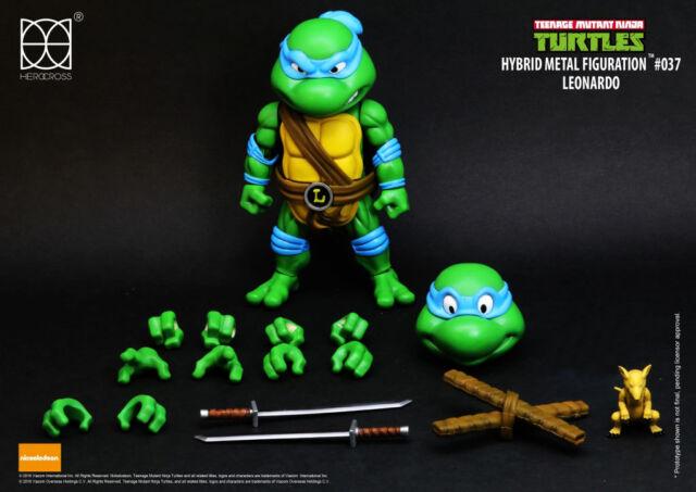 Teenage Mutant Ninja Turtles Hybrid Metal Action Figure Leonardo 14 cm