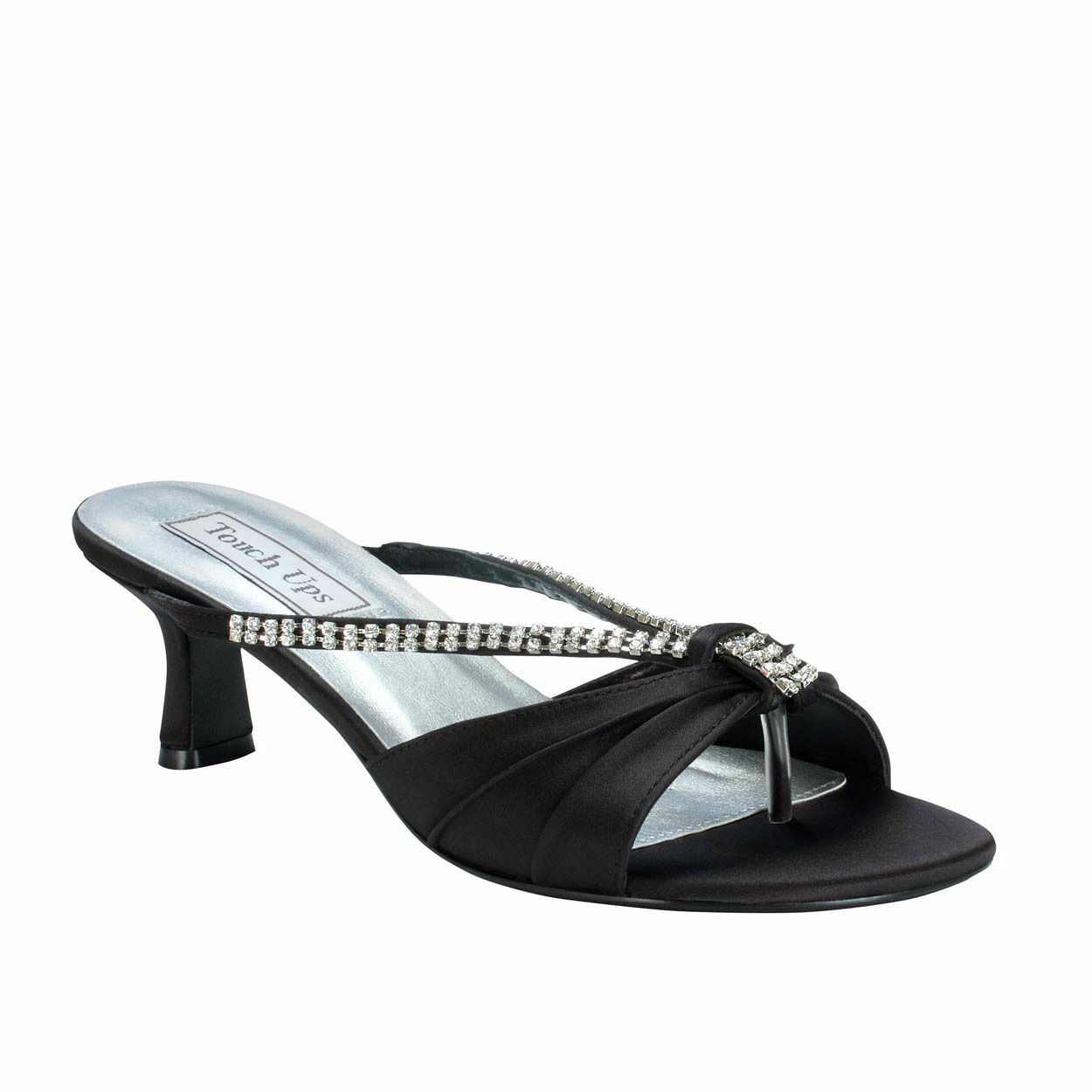 Women's Touch Ups Phoebe Low Heel Sandal Black Size Size Size 7.5  NCMVW-M98 fde955