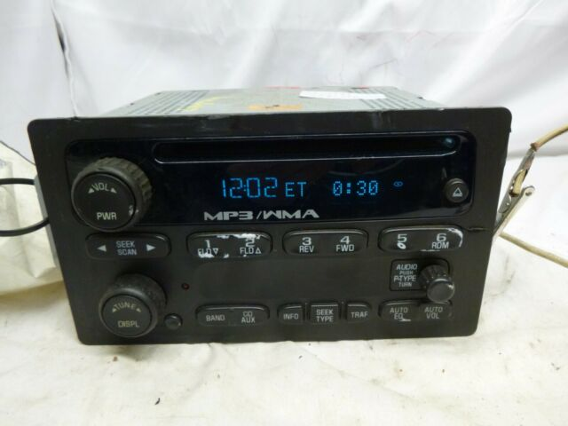 08 09 Chevrolet Colorado GMC Canyon Cd MP3 Player 25998449 ZAL48
