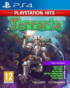 TERRARIA-PLAYSTATION-HITS-PS4-NEW-amp-SEALED-FREE-UK-POST