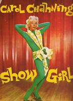 "Carol Channing  ""Show Girl""  Souvenir Program  Broadway 1961  Jules Munshin"