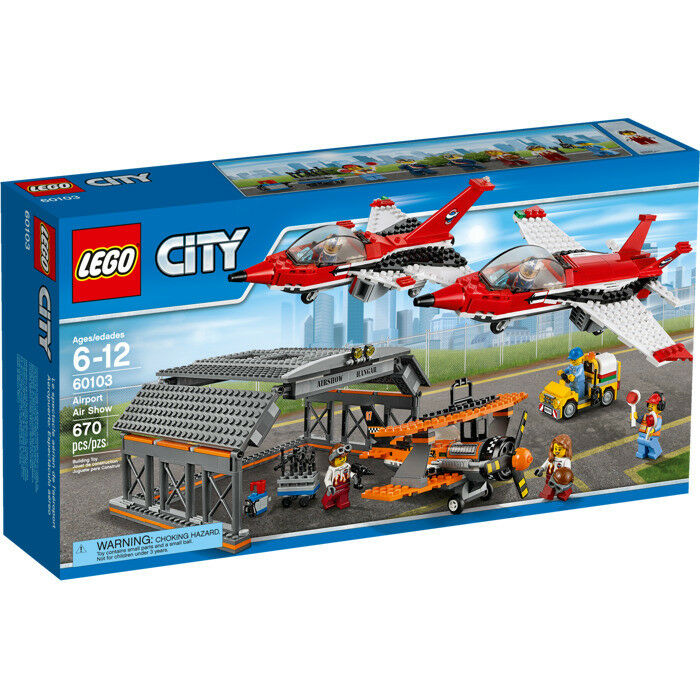 LEGO City (60103) Airport Air Show (Brand New & Factory Sealed)