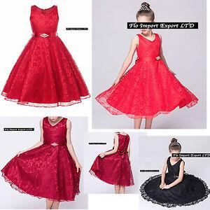 Vestito-Bambina-Abito-Cerimonia-Elegante-Girl-Party-Princess-Dress-CDR057-RRVN
